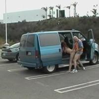 Neuken op de parkeerplek