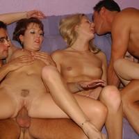 Orgie met studenten